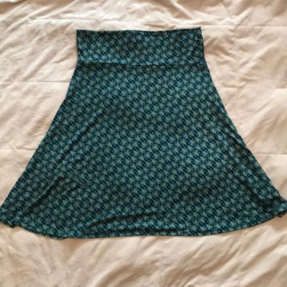 LuLaRoe Dresses & Skirts - Lularoe Azure Skirt
